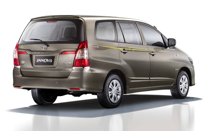 Toyota Innova 2014 Limited Edition Model Launched India