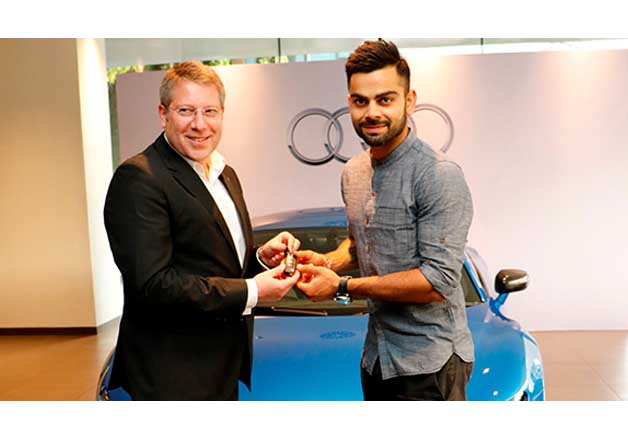 Virat Kohli Becomes Latest Owner Of Audi S Rs 2 97 Cr R8 Lmx Bloggedd