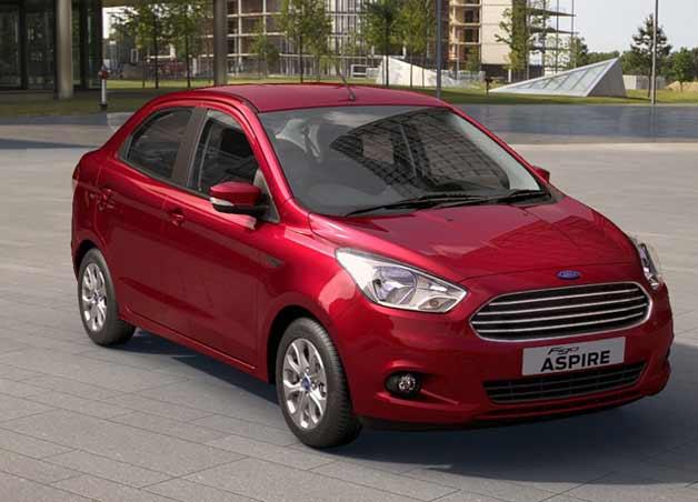 Ford Figo Aspire launched
