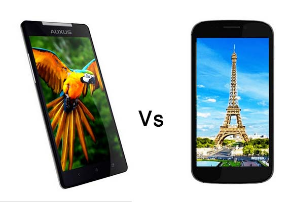 A comparison : iBerry Auxus Nuclea N1 vs Micromax Canvas 4