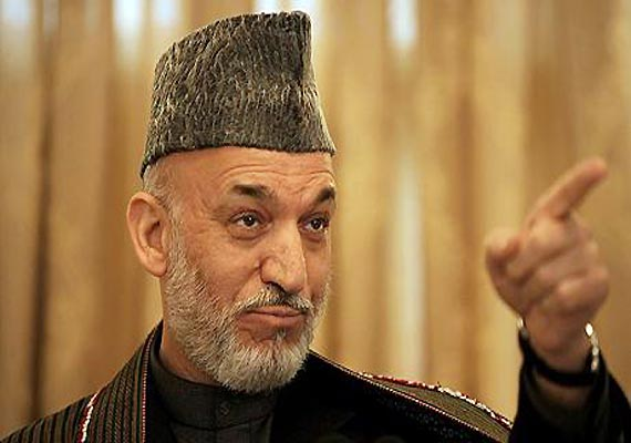 Afghan president Karzai seeks India Inc investments