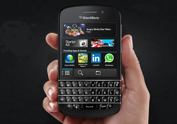 BlackBerry Q10 launched in India for Rs 44,990