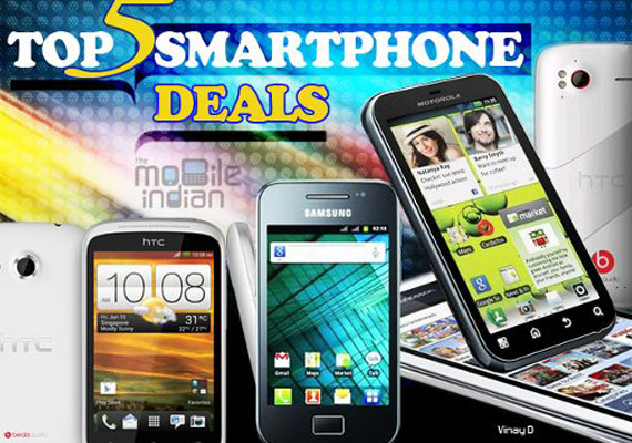 Buyer's guide: Top 5 Android-based smartphones