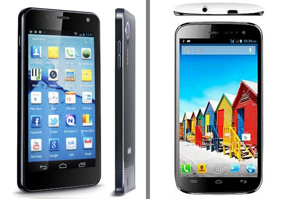 Comparison: Micromax Canvas HD vs Gionee Dream D1