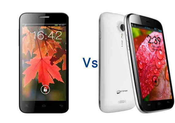 Comparison: Xolo Q800 vs Micromax Canvas HD A116