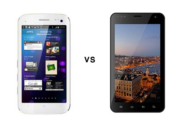 Comparison: Micromax Canvas II vs Karbonn A30