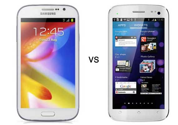 Comparison: Micromax Canvas HD vs Samsung Galaxy Grand
