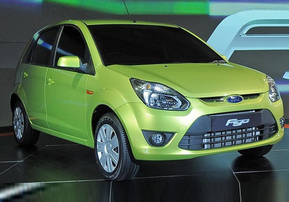 Ford To Export Figo To 50 Countries In 2012