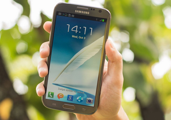 Hands on: Samsung Galaxy Note 2 (N7100)