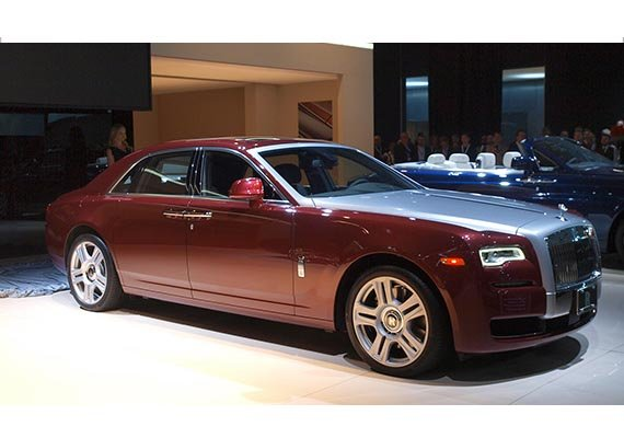 Rolls Royce Ghost Series II launched at Rs 4.5 crore