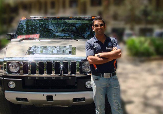 photo of Mahendra Singh Dhoni Hummer` - car