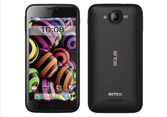 Intex launches Aqua Curve with 5-inch qHD display