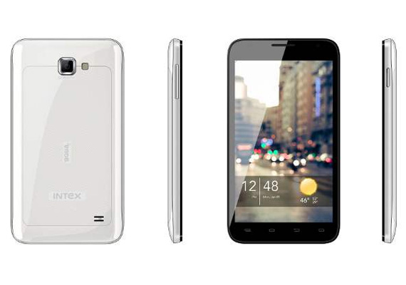Intex Aqua 5.0 with dual core processor unveiled for Rs 9,990