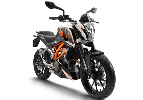 KTM 390 Duke pictures, specifications out
