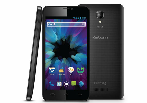 Karbonn Titanium S19 smartphone launched at Rs 8,999