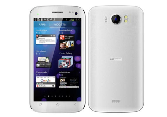 Micromax's Canvas II A110 tops the list for most searched handsets for January 2013