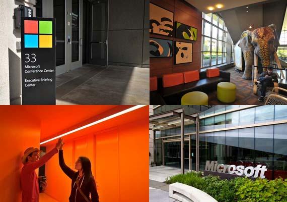 Tour inside microsoft s redmond campus