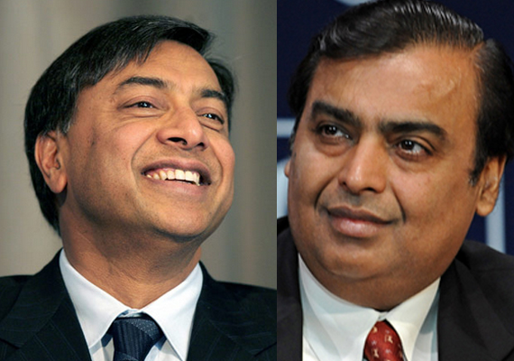 Mukesh Ambani, Laxmi Mittal feature in Forbes' most powerful list