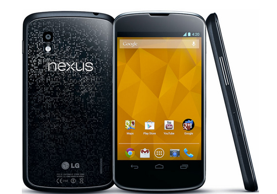 LG Nexus 4  [full phone specifications]