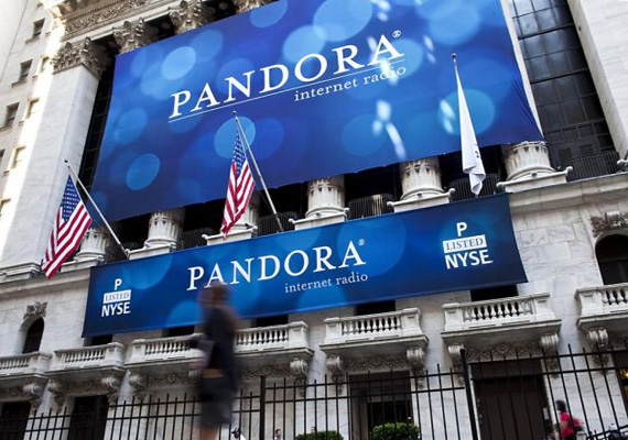 Pandora Media to issue new stock; shares fall