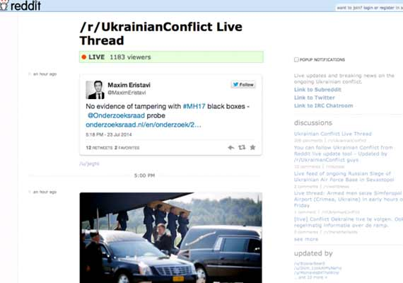 Reddit Live is official, lets you create your own breaking news live blog