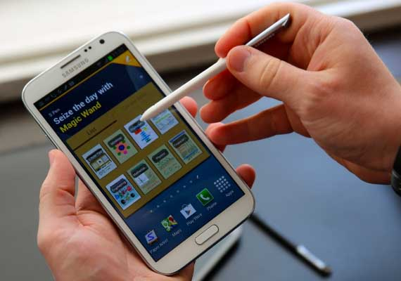Samsung Galaxy Note II: A tough competitor to iPhone 5