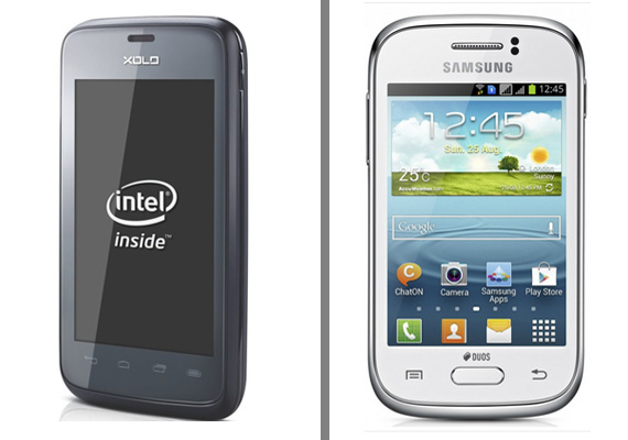 Comparison: Samsung Galaxy Young vs Xolo X500