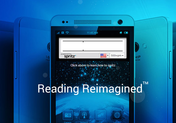 Spritz app promises to boost reading speeds to 500 words a minute