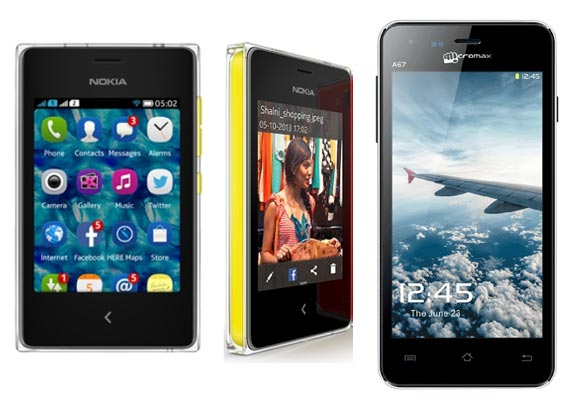 Top 10 phones under Rs 5000 [April, 2014]
