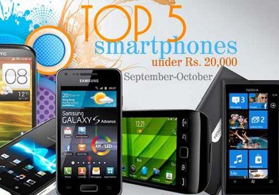 Top 5 smartphones under Rs 20,000