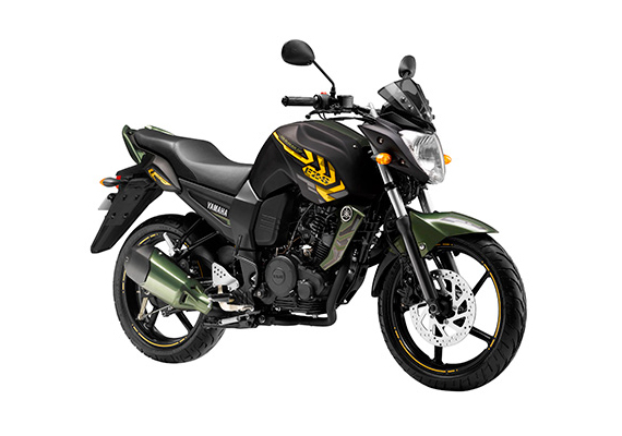 Yamaha Fazer and FZ-S get new battle green paint job