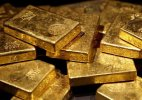 Gold drops Rs 110 on easing demand from jewellers