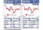 Sensex snaps 4-day winning run as RBI holds rates