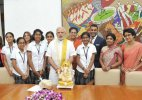 PM Modi lauds Bengaluru girls for app to implement 'Swachh Bharat'