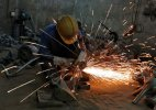 Factory output growth slips in August; all eyes on RBI for rate cut