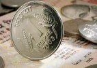 Rupee down 5 paise against dollar