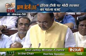 Budget 2014: Jaitley's budget gives tax relief, promises higher growth