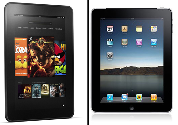 Kindle Fire HD 8.9 vs. iPad 3: A comparison