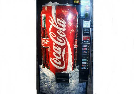 coca colas new vending machine