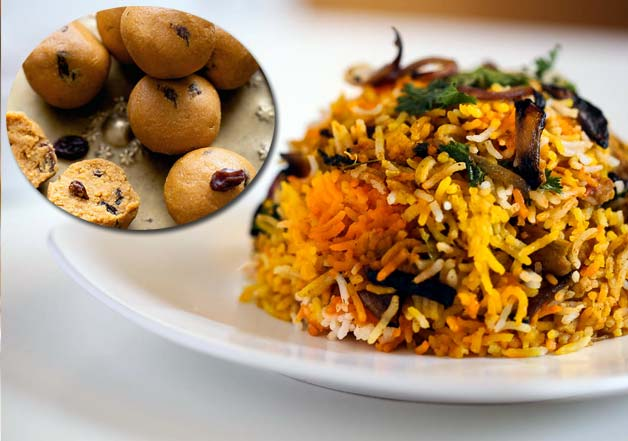 special ladoo biryani for obama