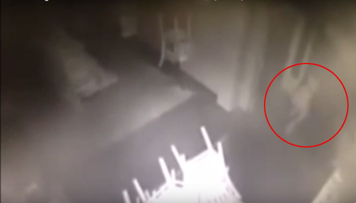 Viral Video: Ghost image of a girl seen in San Francisco hotel