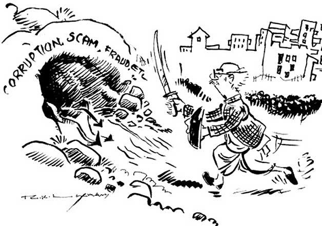Best of RK Laxman s cartoons
