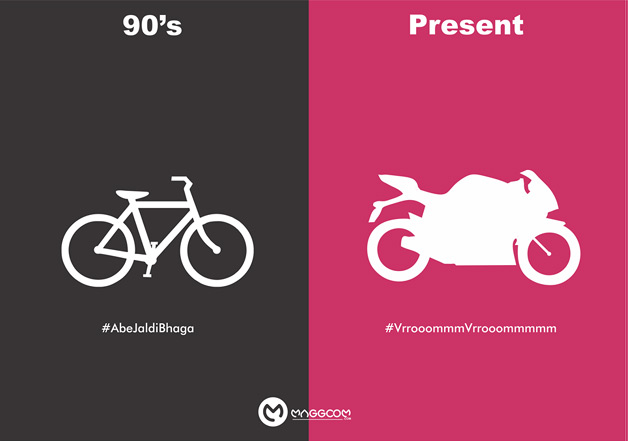 90s VS Present: These 7 posters will tell you why the