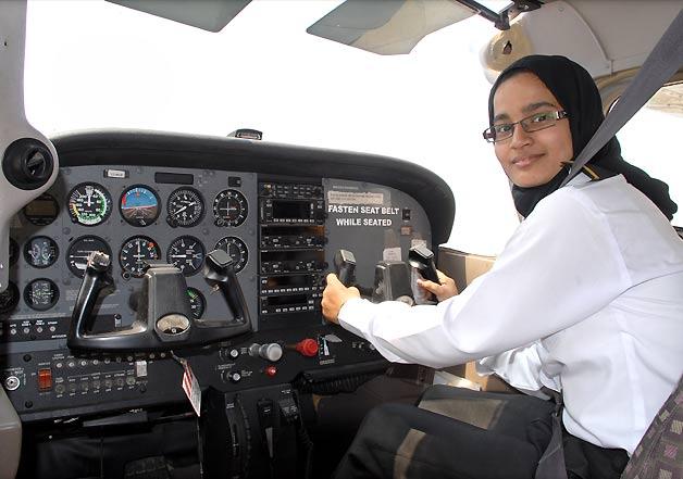 hyderabad first women commercial pilot