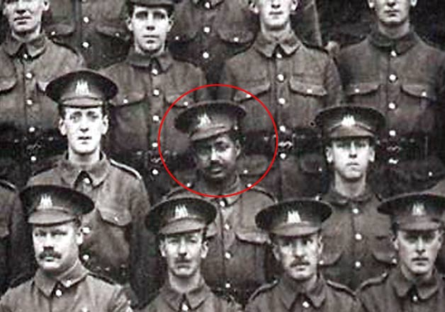jon sen bengali soldier world war 1 photos