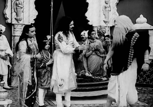 raja harishchandra scenes