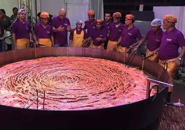 world's largest imarti in mumbai - indiatv