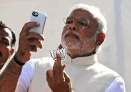 Narendra Modi-The ultimate selfie king!