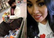 She saw a poor guy looking for food in trash. And what she did next will amaze you!