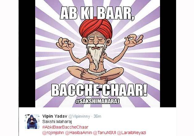 sakshi maharaj hinduism remark trolls